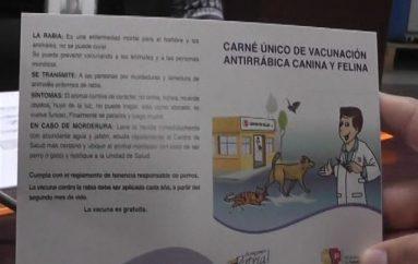 (Video) Del 01 de Marzo hasta el 31 de Marzo se llevará a cabo campaña de vacunación contra la rabia.