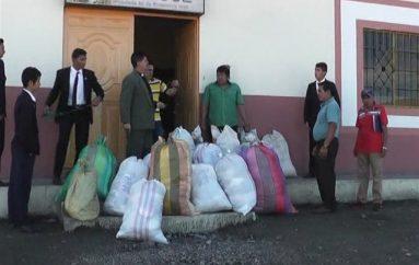 (Video) Parroquia San José entrego donativos para los perjudicados en Perú.