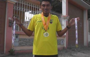 (Video) Medallista latinoamericano retornó comprometido en conseguir más logros para Catamayo