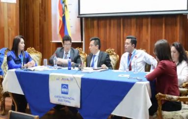 (Video) Junta Provincial Electoral laborará hasta el 16 de mayo.