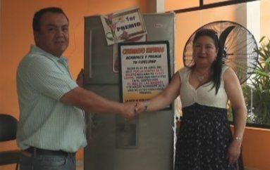 (Video) Loja y Catamayo se llevaron los premios mayores que sorteó Catamayo Express