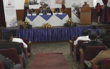 (Video) En Loja se cumplió la segunda Asamblea Provincial de Comunas.