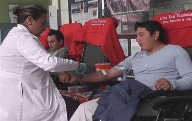 (Video) En Loja, se conmemora el Día Mundial del Donante Voluntario.