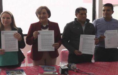 (Video) Parroquia Santiago y El Tambo firman convenio de cooperación con Centro de Acción  Social Matilde Hidalgo.
