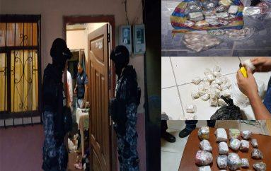 (Video) Detienen a ciudadano e incautan 1.200 gramos de cocaína y 800,2 gramos de marihuana