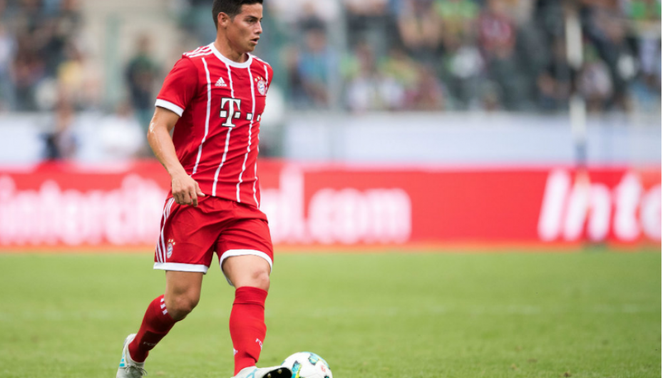 James Rodríguez debuta con el Bayern de Múnich ganando un torneo de pretemporada