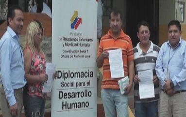 (Video) Ministerio de relaciones exteriores entregó certificados a migrantes retornados