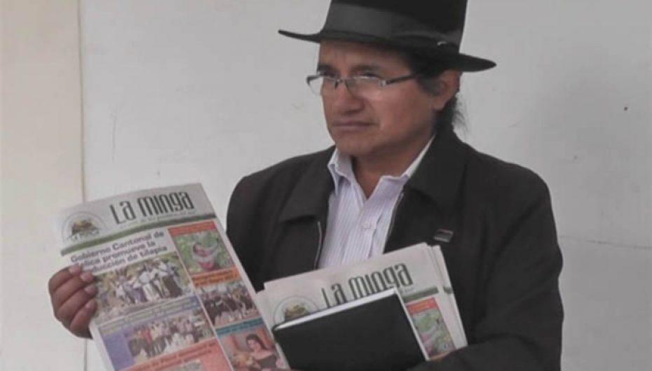 """(Video) Programa radial y periódico """"La Minga"""" de aniversario."""