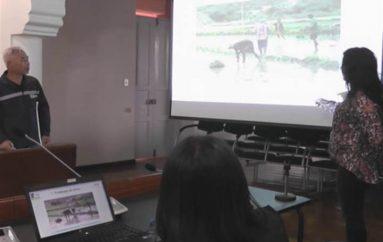 (Video) Eunje Cho experto coreano presentó  su informe de gestión realizado en la provincia de Loja.