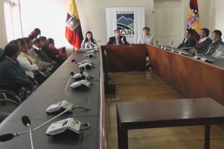 (Video) 18 sistemas de riego comunitarios y 5 públicos, serán  rehabilitados en la provincia de Loja.