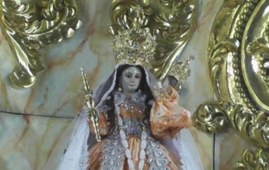 (Video) Por trabajos de regeneración urbana Virgen de El Cisne será traslada a la iglesia de San Sebastián.