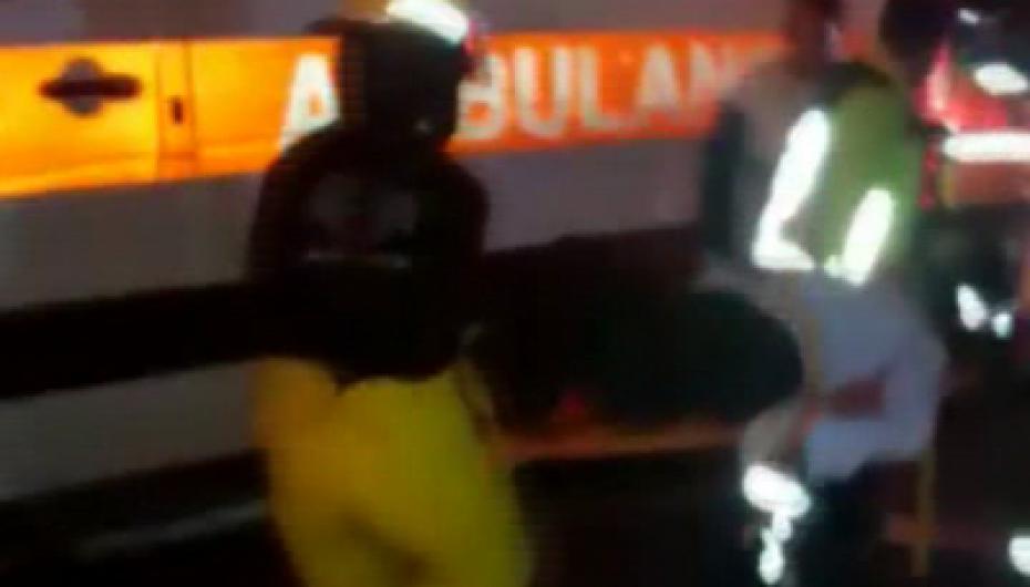 (Video) Dos personas resultaron heridas en accidente de tránsito en la vía Catamayo-Gonzanamá