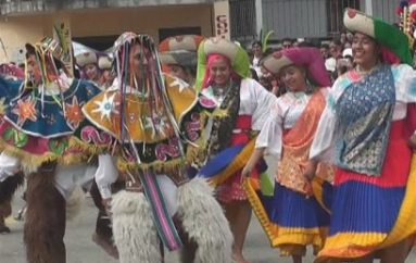 (Video) El Tambo celebró 60 años con civismo, danza y algarabía