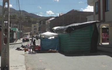 (Video) Desacuerdos por ubicación de comercios en algunas calles de Catamayo