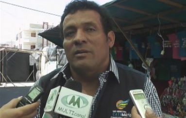 (Video) La construcción de un complejo ferial evitaría molestias en moradores según Comisario municipal