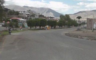 (Video) En los próximos días finalizarían trabajos de iluminación en Avenida Catamayo