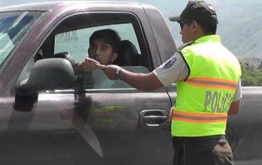 (Video) Policía Nacional intensifica los operativos en las vías del Cantón.