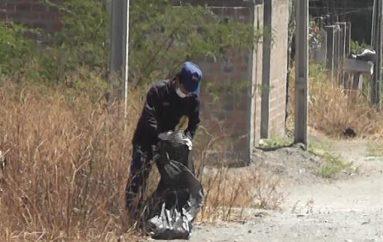 (Video) Minga de eliminación de criaderos de vectores se realizó en San José.