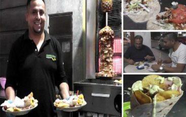 """Leonardo Almeida """"El Shawarma"""", un ejemplo de emprendimiento diferente en Catamayo"""