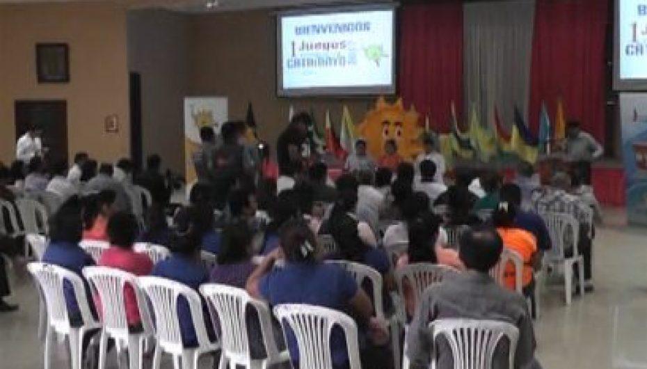 (Video) Autoridades realizaron lanzamiento oficial de los primeros Juegos provinciales Catamayo 2017
