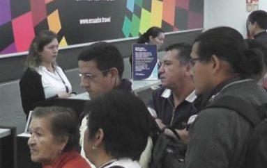 (Video) Vuelos de TAME suspendidos originó reclamos de pasajeros