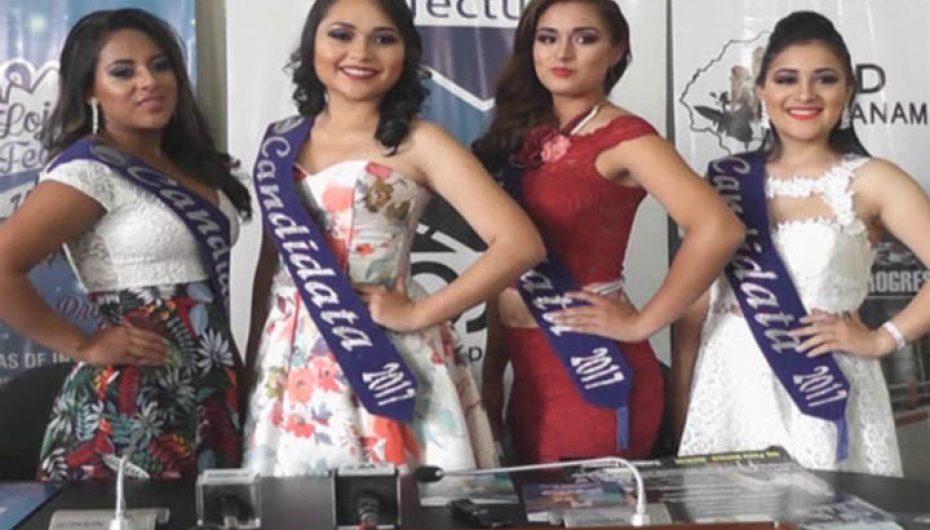 (Video) 4 bellas jóvenes participan a  obtener el título de Reina del cantón Gonzanamá quien cumple 74 años de vida política.