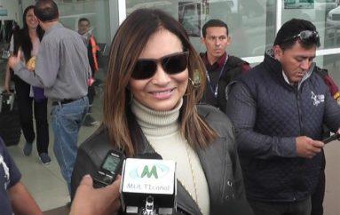"""(Video) Miriam Hernández """"Estoy feliz de llegar a Loja"""""""
