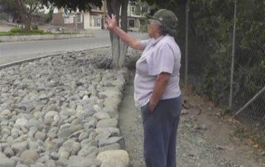 (Video) Moradora pide al Gobierno Local de Catamayo concluir obra paralizada