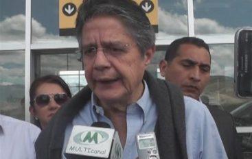"""(Video) Guillermo Lasso: """"Lenin Moreno es más de lo mismo"""""""