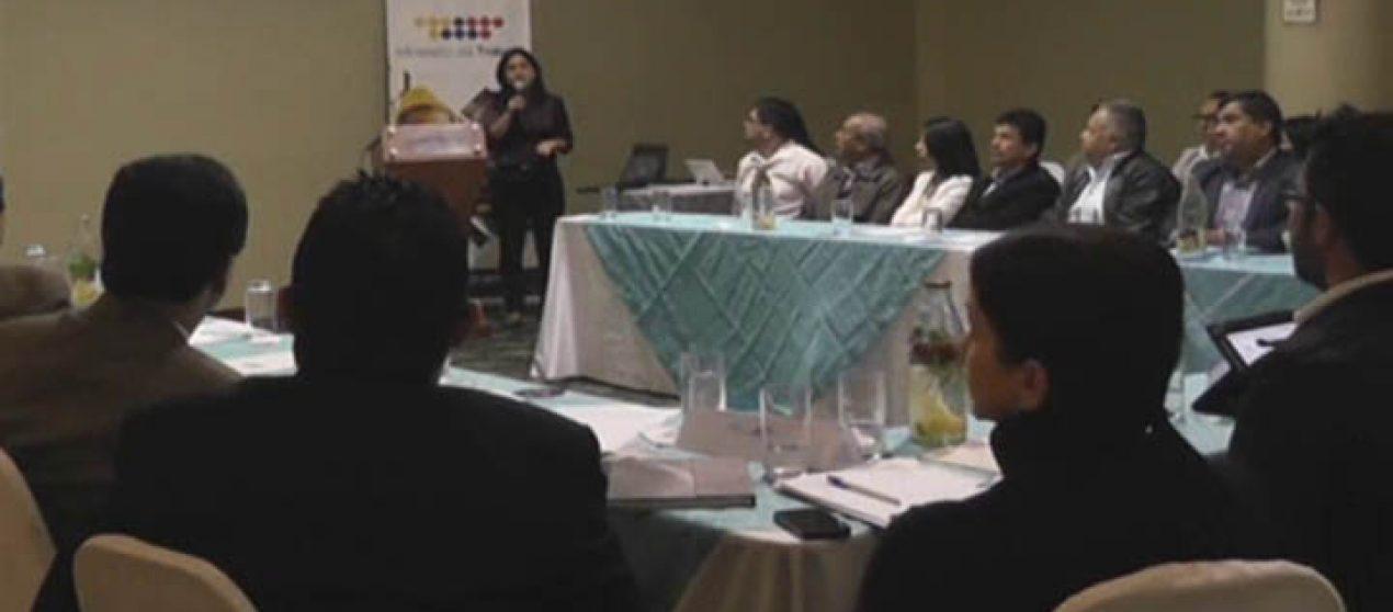 (Video) Ministerio de Trabajo realizó en Loja mesa de diálogo laboral.