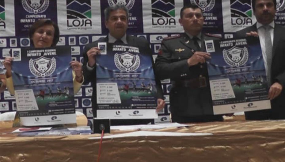 (Video)  Por primera vez se realizará en Loja Campeonato Regional Infanto Juvenil