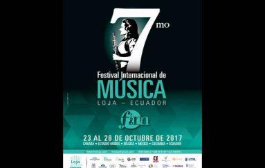 (Video) Festival Internacional de Música se cumplirá en Loja del 23 al 28 de octubre.