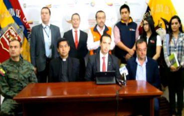 (Video) Presentan plan de contingencia por feriado de Difuntos e Independencia de Cuenca.