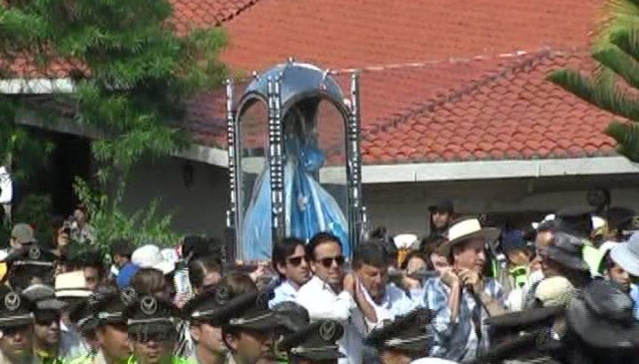 (Video) Transportistas de Catamayo se alistan para recibir a la Imagen de la Virgen de El Cisne.