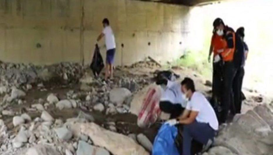 (Video) Fue todo un éxito campaña de limpieza en ríos y quebradas en Catamayo.