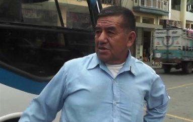 (Video) Rogelio Carpio espera que las autoridades de una solución a las fallas de la vía Intervalles.