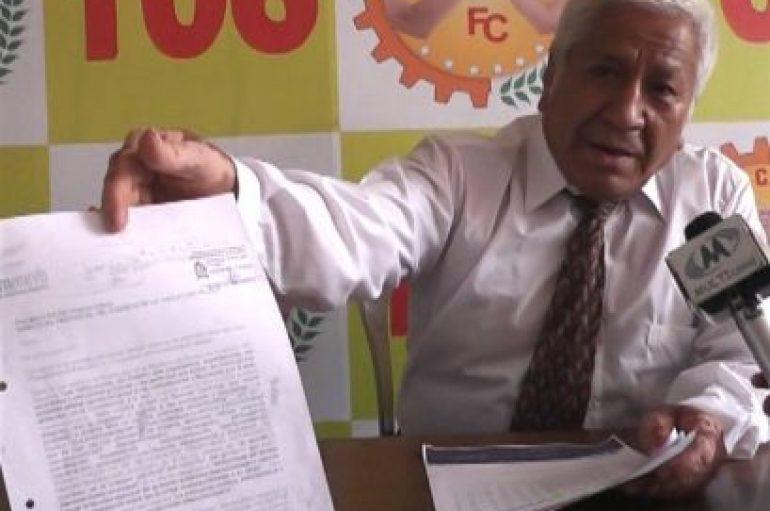"""(Video) Héctor Figueroa: """"No quiero la notaría porque temo corromperme como se han corrompido algunos"""""""