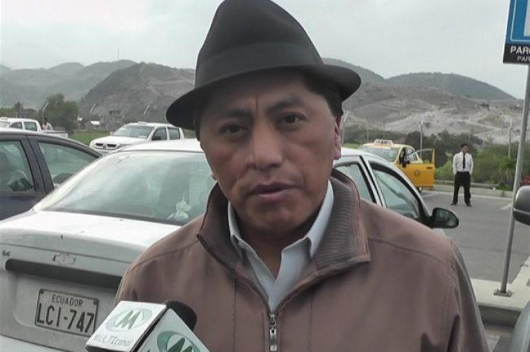 (Video) Humberto Cholango asegura que la visita del ex-mandatario no afecta al trabajo del Gobierno.