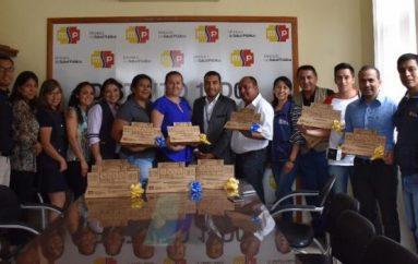 (Video) Distrito de Salud 11D02 realizó acto de agradecimiento a comunicadores de Catamayo.