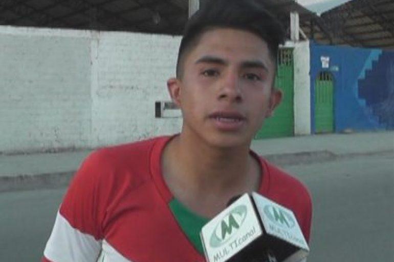 (Video) Deportista catamayense Daniel Curipoma debutará en Deportivo Cuenca