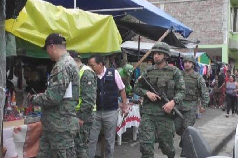 (Video) Autoridades decomisaron varios juegos pirotécnicos en comercios de Catamayo