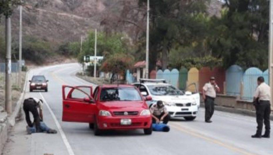 (Video) Policía detiene en Catamayo a presuntos delincuentes que habrían robado en Olmedo