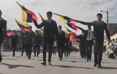 (Video) Estudiantes, autoridades y ciudadanos desfilaron por la parroquialización de San José