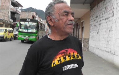 (Video) Félix Quinde dice preocuparle el no inicio de los trabajos de construcción del parque.