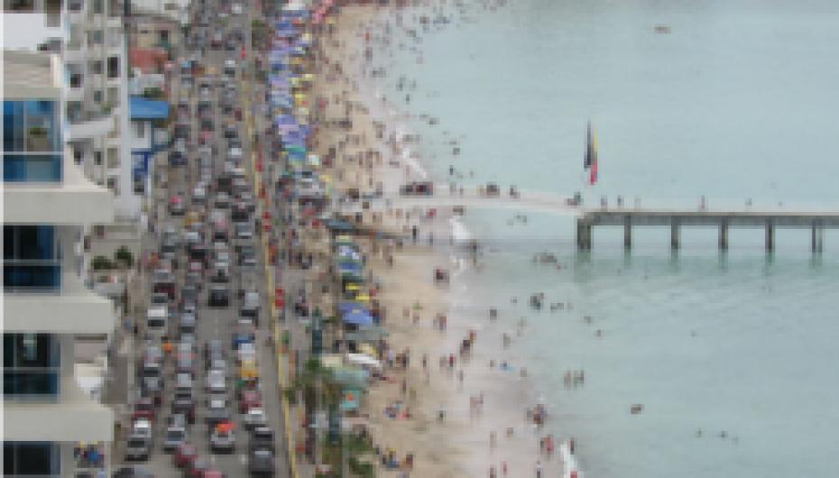 Santa Elena fue la provincia más visitada en este feriado de carnaval 2018