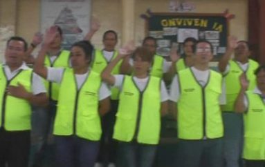 (Video) Policía Nacional posesionó a miembros de brigada de orden y seguridad en Unidad Ovidio Decroly