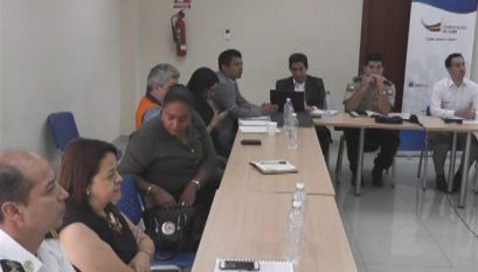 (Video) Comité provincial de seguridad de Loja se reunió en Catamayo