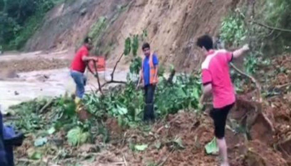 (Video) Inconvenientes por lluvias en vías y cantones de Loja y Zamora Chinchipe