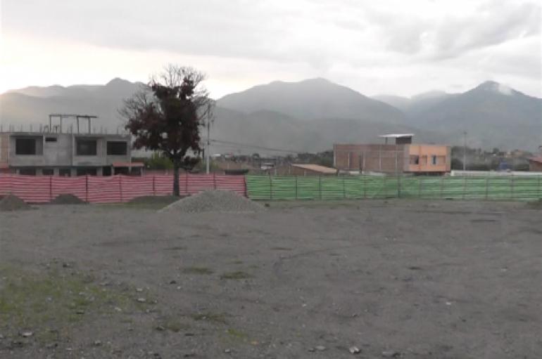 (Video) Párroco de San José se refiere a los trabajos de construcción del parque para la Parroquia.