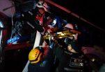 Diez víctimas tras impacto de buses enla vía Jujan – Tres Postes